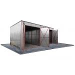 diukstal blechgaragen aus polen metallgaragen. Black Bedroom Furniture Sets. Home Design Ideas